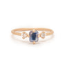 Emerald Cut Sapphire Ring - Valley Rose Ethical & Sustainable Fine Jewelry