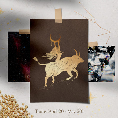Taurus Constellation Necklace - Valley Rose Ethical & Sustainable Fine Jewelry