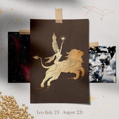 Leo Constellation Charm & Necklace - Valley Rose Ethical & Sustainable Fine Jewelry