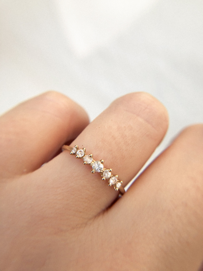 Mini Meissa Ring - Valley Rose Ethical Fine Jewelry 14K Fairmined Gold