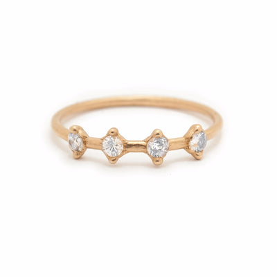 Phoebe Ring - Valley Rose Ethical Fine Jewelry 14K Fairmined Gold