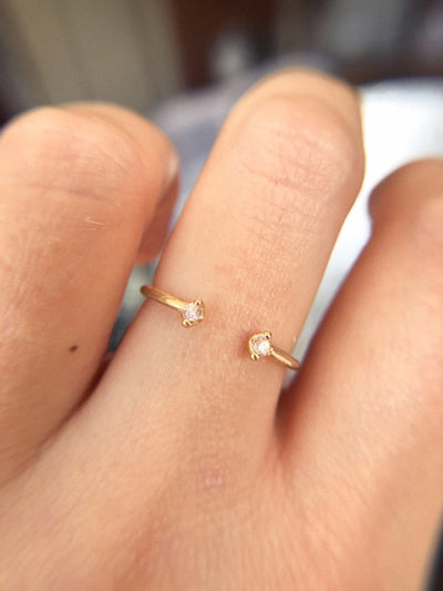 Orbit Ring - Valley Rose Ethical Fine Jewelry 14K Fairmined Gold