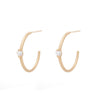 Large Étoile Hoops - Valley Rose Ethical Fine Jewelry 14K Fairmined Gold