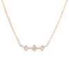 Orion's Belt Necklace - Valley Rose Ethical Fine Jewelry 14K Fairmined Gold