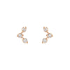 Cassiopeia Earrings - Valley Rose Ethical Fine Jewelry 14K Fairmined Gold