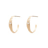 Mojave Hoops - Valley Rose Ethical Fine Jewelry 14K Fairmined Gold