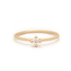 Hera Solitaire, .11 ct - Valley Rose Ethical & Sustainable Fine Jewelry