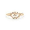 Eos Evil Eye Ring - Valley Rose Ethical Fine Jewelry 14K Fairmined Gold