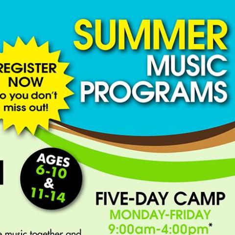 Summer Rock Band Camp (Monday to Friday) 9am to 4pm