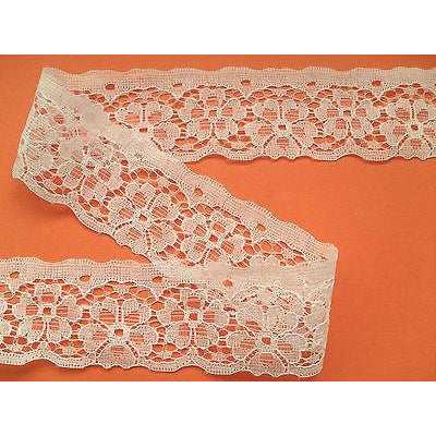 Ivory Nottingham Craft Lace  4.5 cm