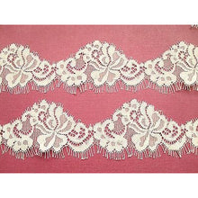 "Beige Skintone Eyelash Lace Ribbon 6 cm/2.25"" Craft Trim"