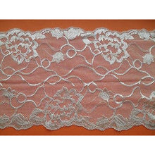 Ivory Wide Soft Stretch Lace   16cm/6.5""