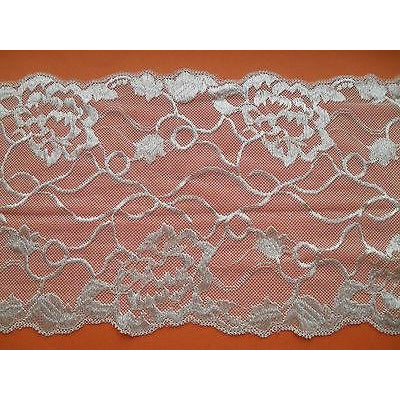 Ivory Wide Soft Stretch Lace   16cm/6.5