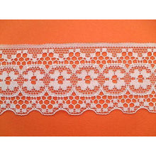 Ivory 'Antique' Look Nottingham Lace  Lace 5 cm/2""