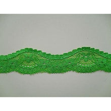 "5 m French Stretch Cut-Out Lace 3.5 cm/1.25""  Eight Colours"