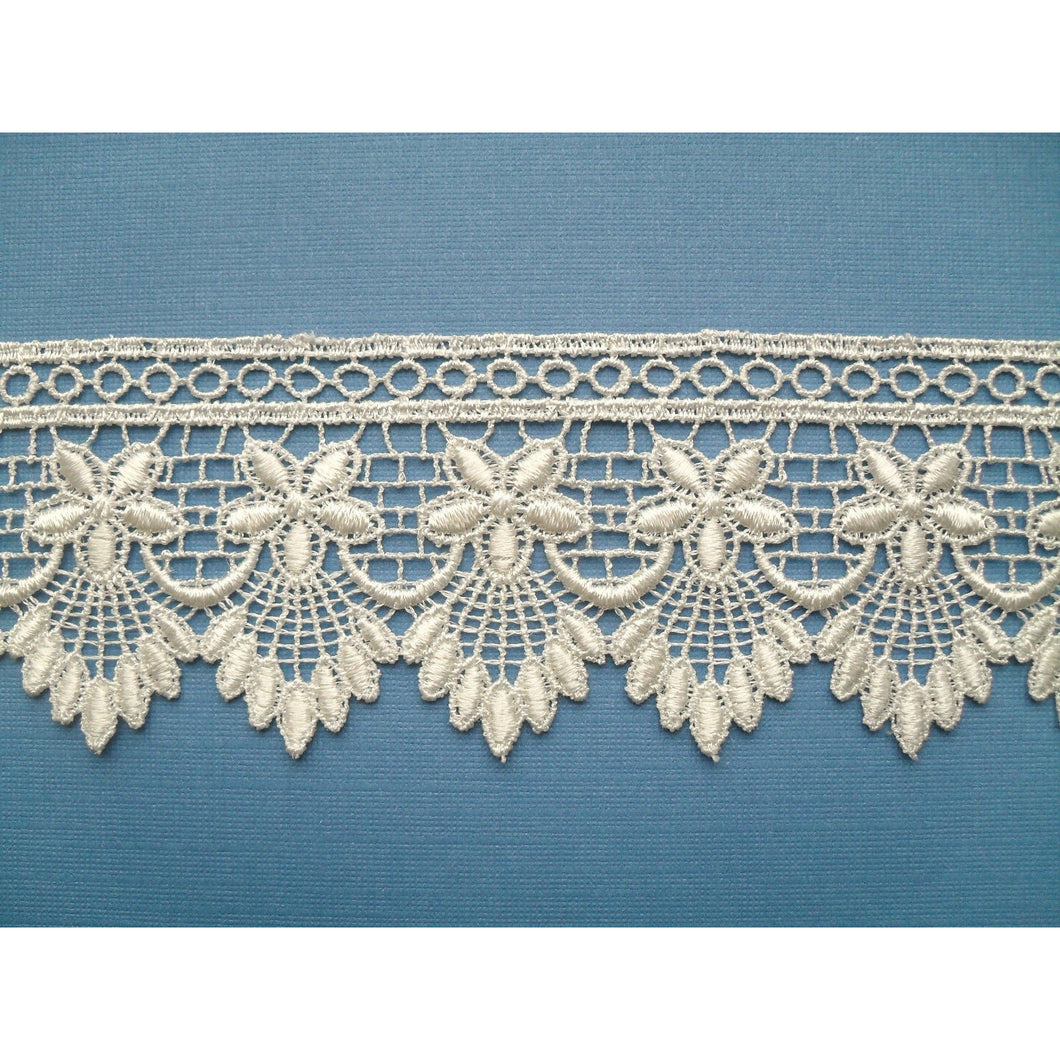 Beautiful Ivory Cream Guipure/Venise  Lace 2