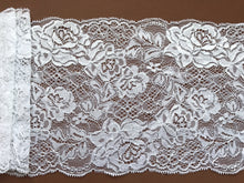 Beautiful White Delicate French Rose Lace 17cm/6.75""