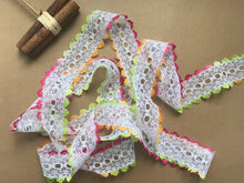 *NEW COLOUR* Fiesta Ombre Eyelet Knitting in Lace 35mm