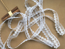 *NEW* Single Edge White Eyelet Knitting in Lace 18 mm
