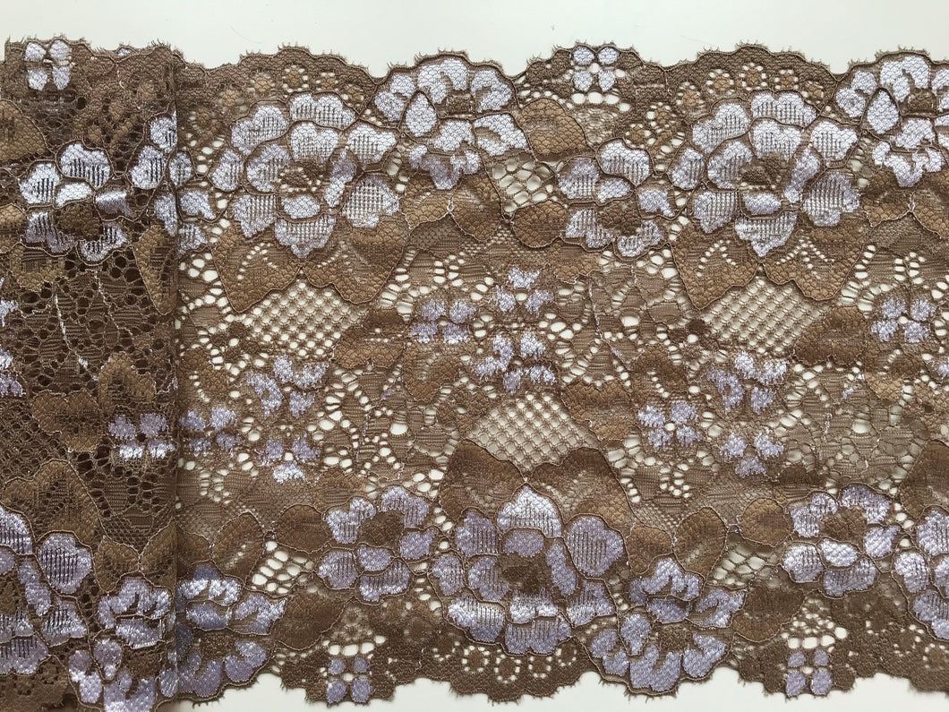 """Ivory Stretch Lace Wide 7/""""//18 cm Lingerie Craft Sew Table Runner"""