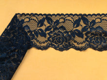 Beautiful White or Black Nottingham Scalloped Lace  9cm/3.25""