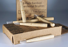 Bamboo interdental toothbrushes from BAMWOO