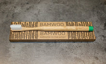 BAMWOO biodegradable bamboo toothbrush in forest green colour