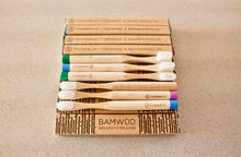 Year's Supply of BAMWOO's children's bamboo toothbrush in mixed colours