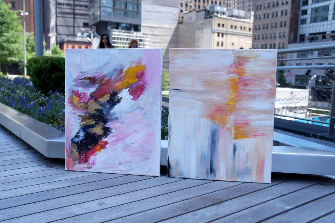 paintings streets fidi