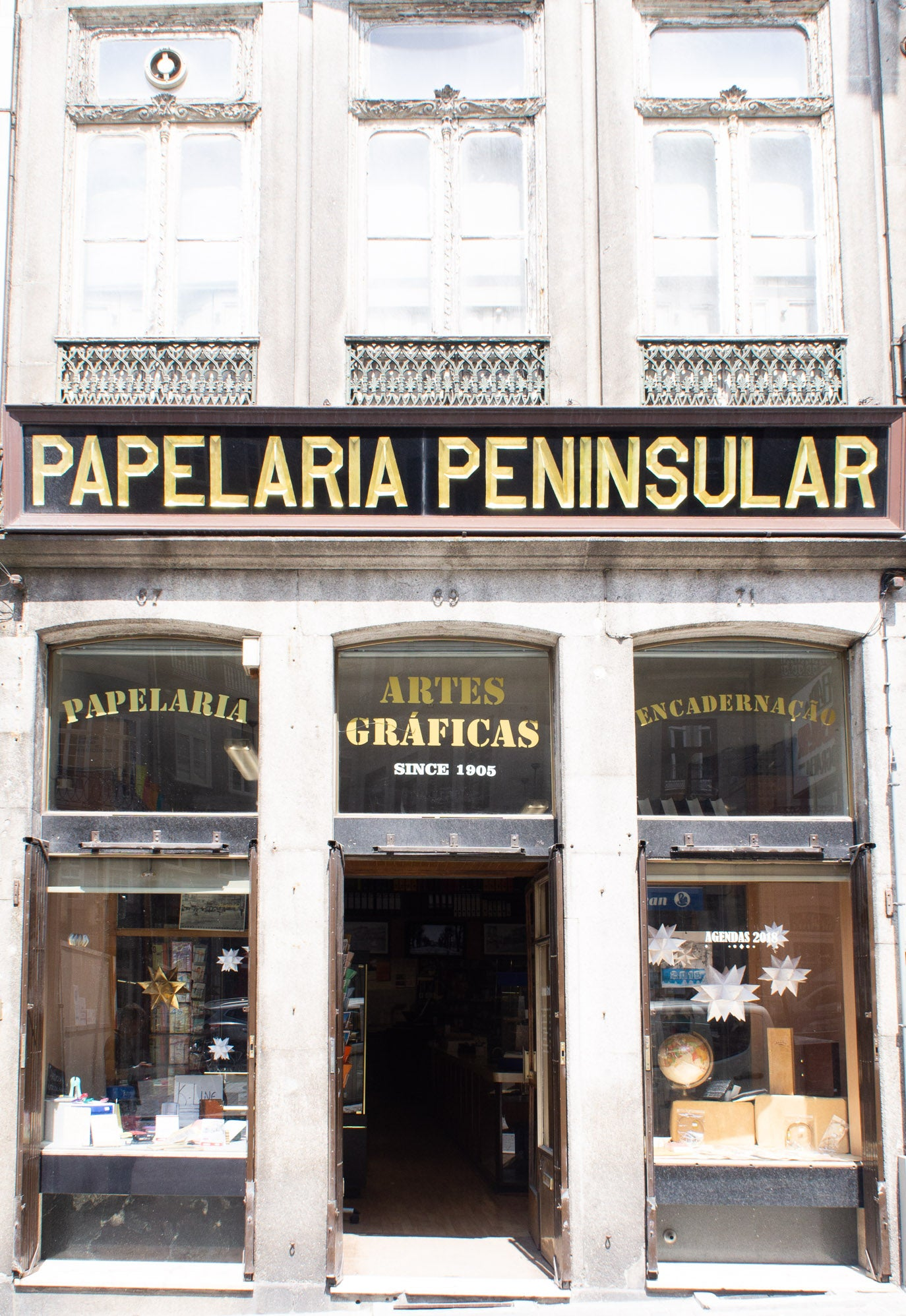 peninsular stationery shop porto