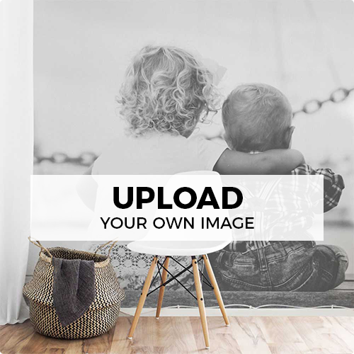 upload your own image and make a wall mural