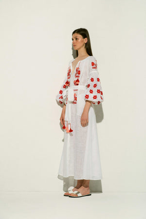 Arizona Linen Maxi Dress