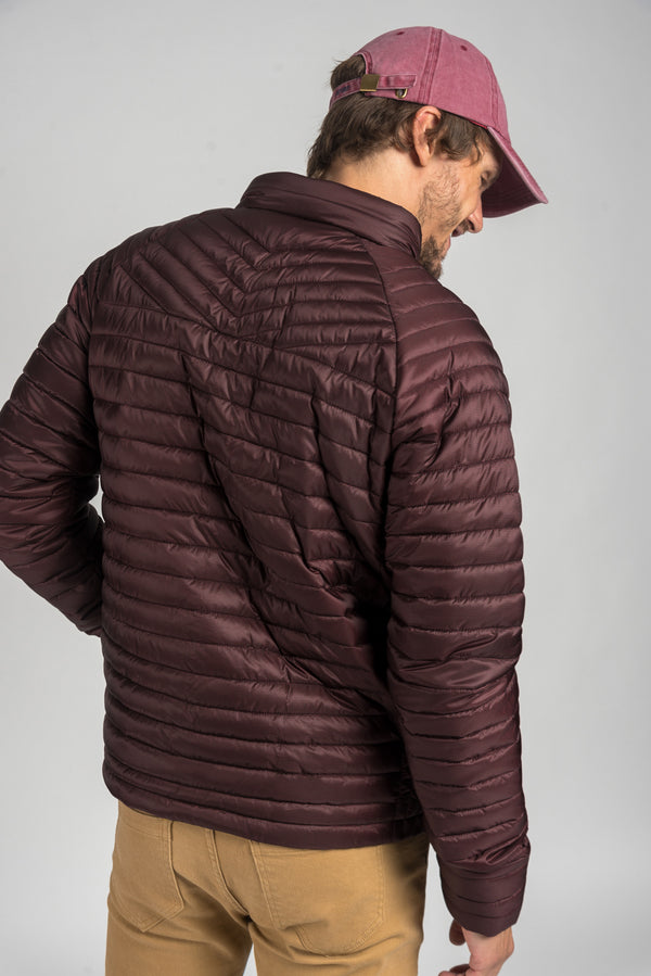 Campera Sparks Bordeaux