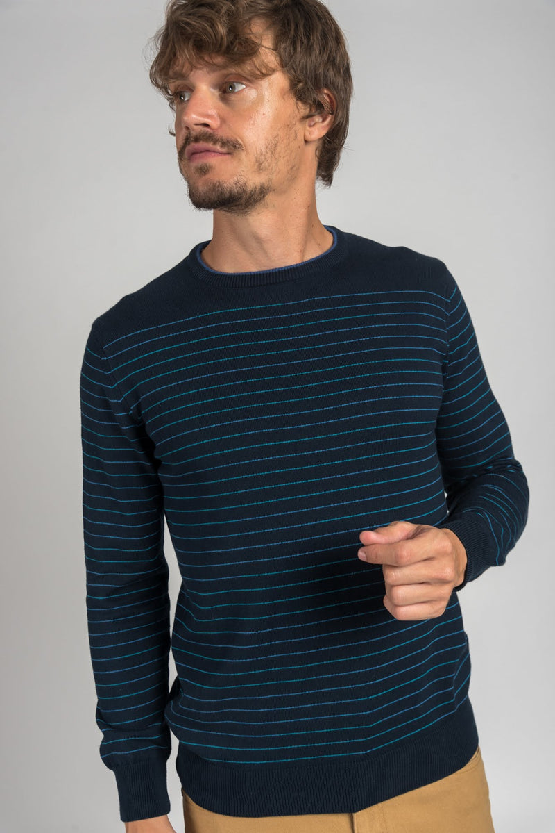 SWEATER BAKER NAVY