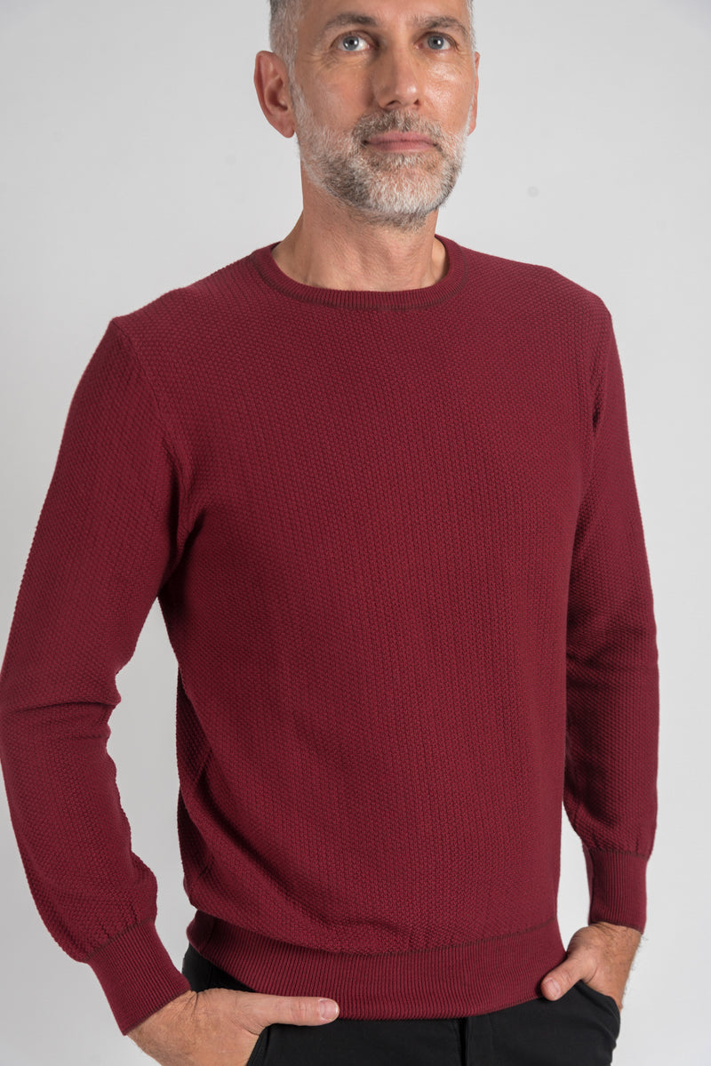 Sweater Ted Bordeaux
