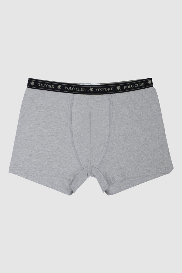 BOXER CALIFORNIA GREY MELANGE