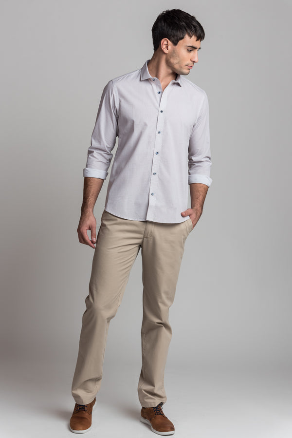 Camisa Valle Ocre