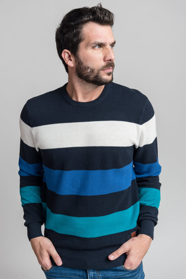 Sweater S19521 Azul