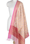 Baby_Pink_Silk_Cotton_Banarasi_Dupatta_with_floral_jaal_1_Main
