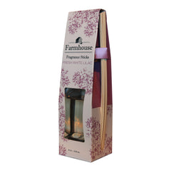 White Lilac Fragrance Reed Diffuser Set