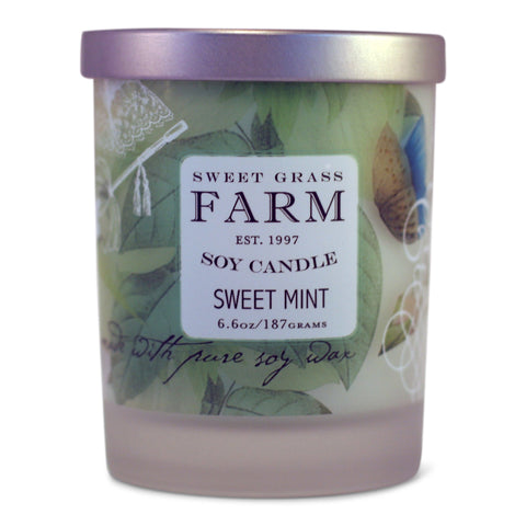 Frosted Tumbler Soy Wax Candles