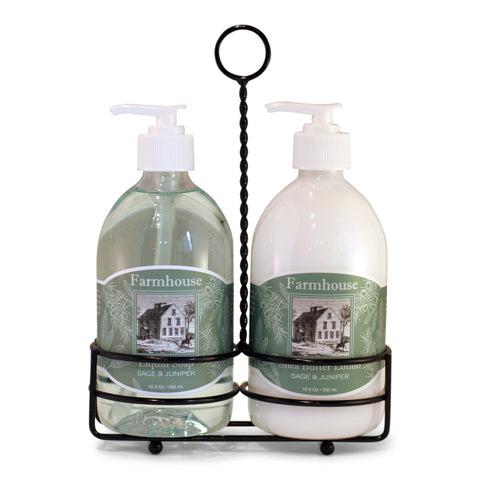 Hand Lotion and Liquid Soap Caddy