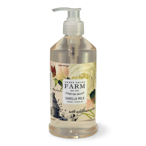 Liquid Soap with Wildflower Extracts 1