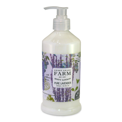 Body Lotion With Wildflower Extracts