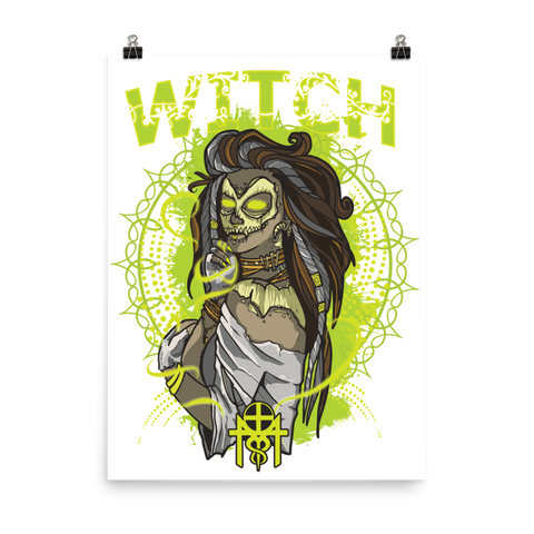 WITCH - Matte Paper Poster