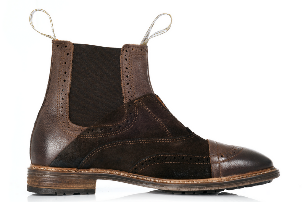 The No Lace Chelsea Boot Brown