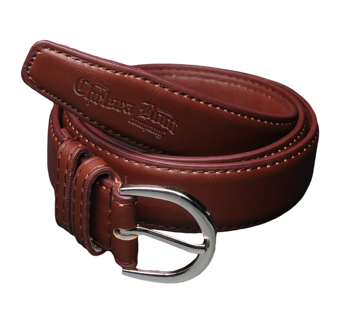Stirrup Buckle Leather Belt