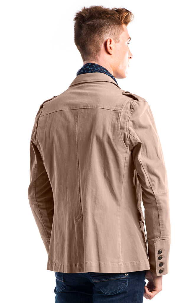 Single Vent Jacket - Camel