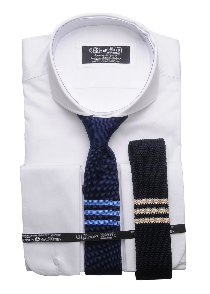 Chelsea Triple Stripe Knitted Tie