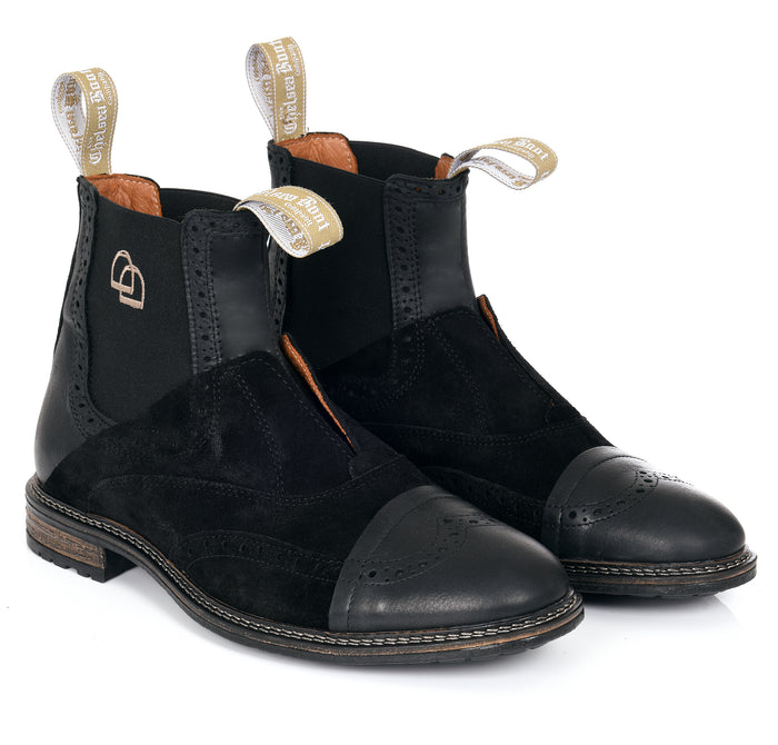 No Lace Chelsea Boot Black